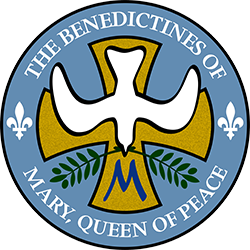 Queen of Peace Benedictines Logo