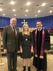 Annie Kate Leinius, Scott Layer and Rob Haynes at Central United Methodist Church (Lenoir City, TN)