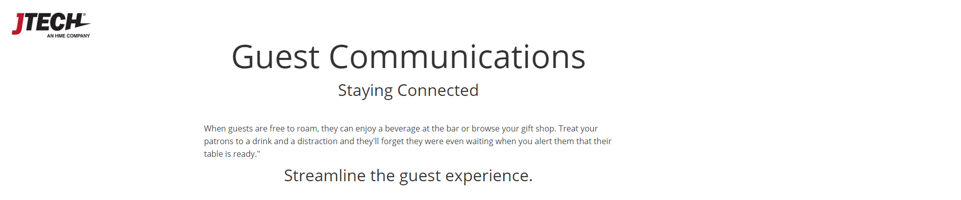 Guest Communications