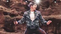 Cody dancing red rocks 2019