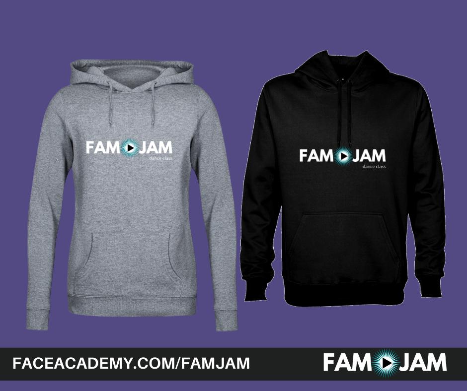 FAM Jam Merch hoodies