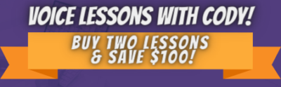 Voice Lessons Spring 2021 2