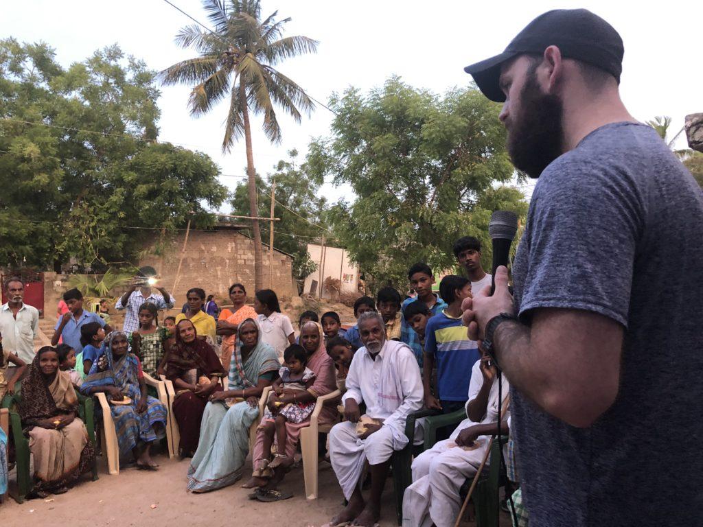 Speaking to the elders