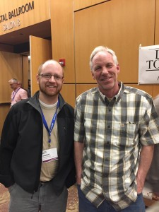 With my good friend and former student, Jeremy Trichler