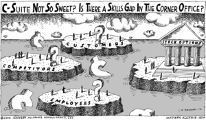 Masters Alliance C-Suite Not So Sweet? Is There a Skills Gap in the Corner Office?