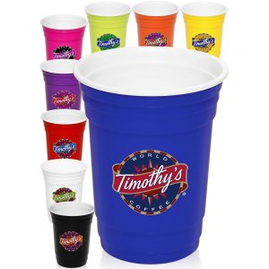 16 oz Double Wall Plastic Party Cup