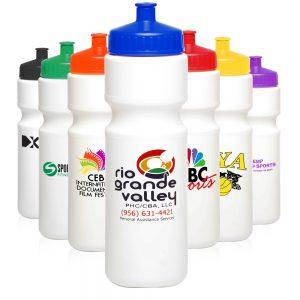 AWB28USA 28 oz Plastic Water Bottles