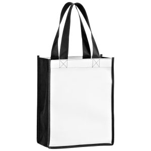 SUBL8410 Dye Sublimation OPP Laminated Non Woven Sublimated Tote Bag