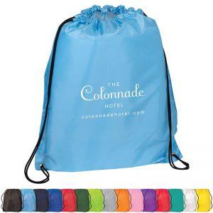 Cinch Up Backpack BG100 Polyester Reusable Drawstring Bags