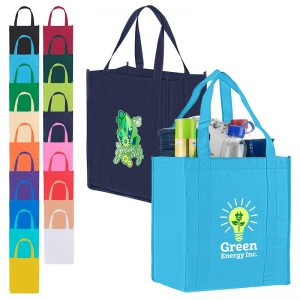 Atlas Non Woven Grocery Tote Reusable Bags BG125