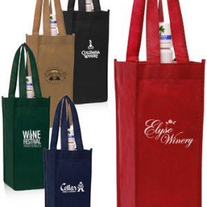 Non-Woven Vineyard One Bottle Wine Bags ATOT115