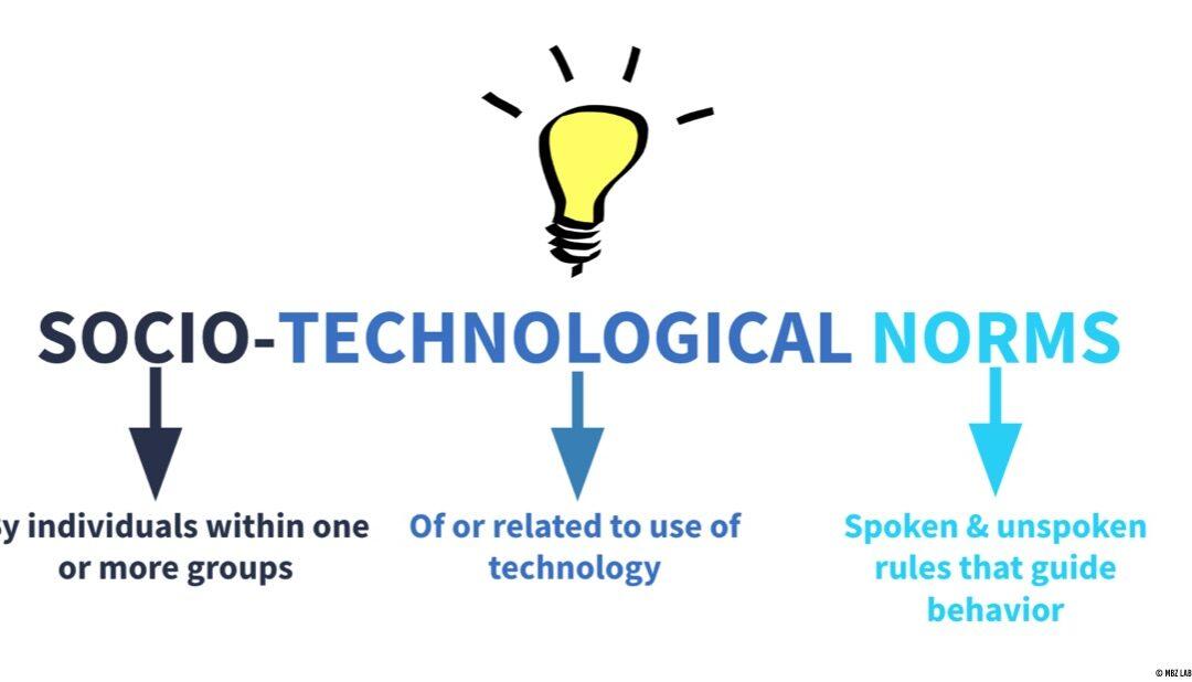 Socio-Technological Norms Definition