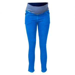 The Hannah Grace Maternity Classic Light Blue Un-ripped Maternity Jeans