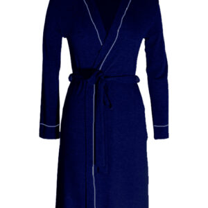 Long Sleeve Navy Maternity Gown