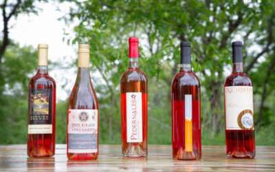 ROSÉ ALL DAY, ALL YEAR FROM TEXAS FINE WINE