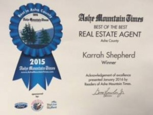 ashe county real estate agent