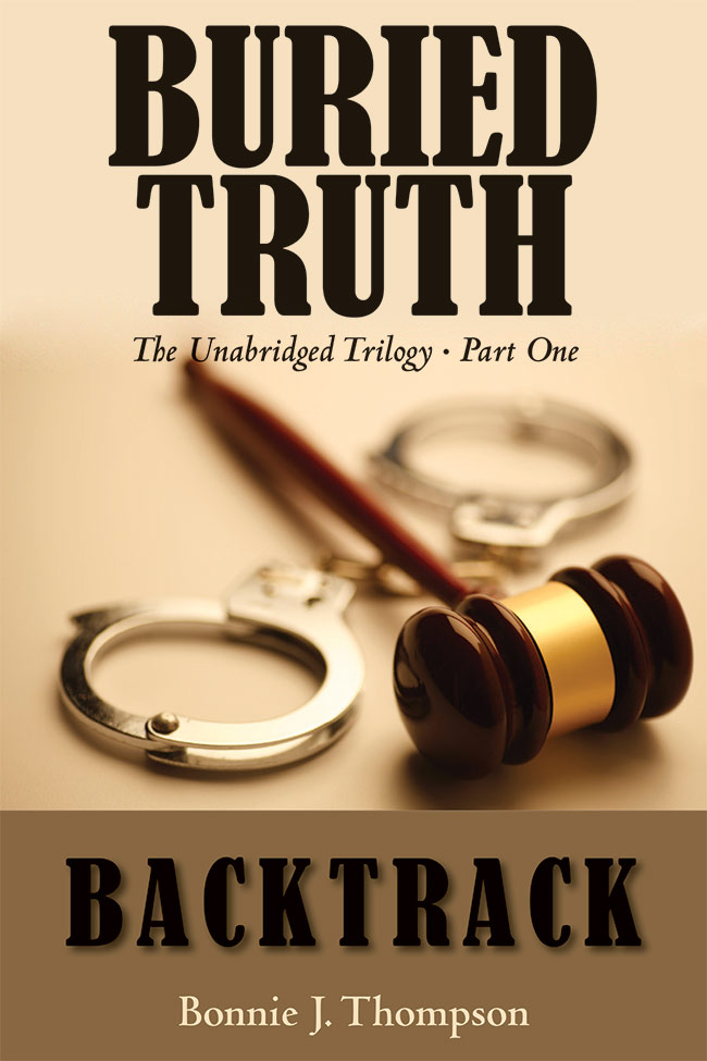 A front cover for the Part One of Buried Truth book