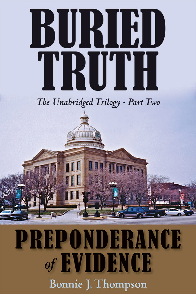 A front cover for the Part Two of Buried Truth book