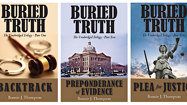 A feature for the Buried Truth Trilogy books