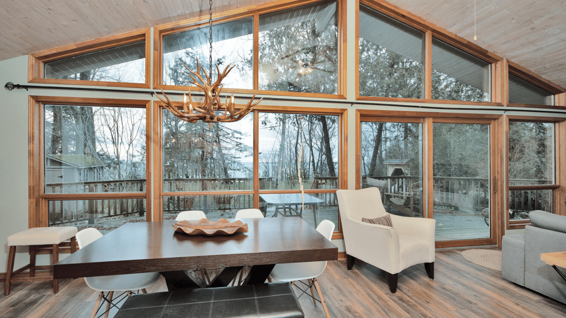 Beautiful views inside and out!