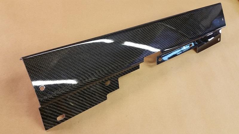 "Spoolfool's New ""Flatty"" Style Carbon Fiber Radiator Hold Down"