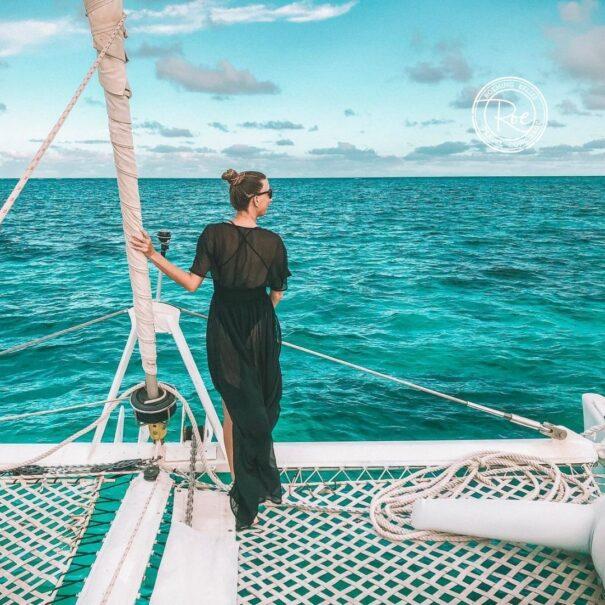 sailing ambergris caye vacation belize