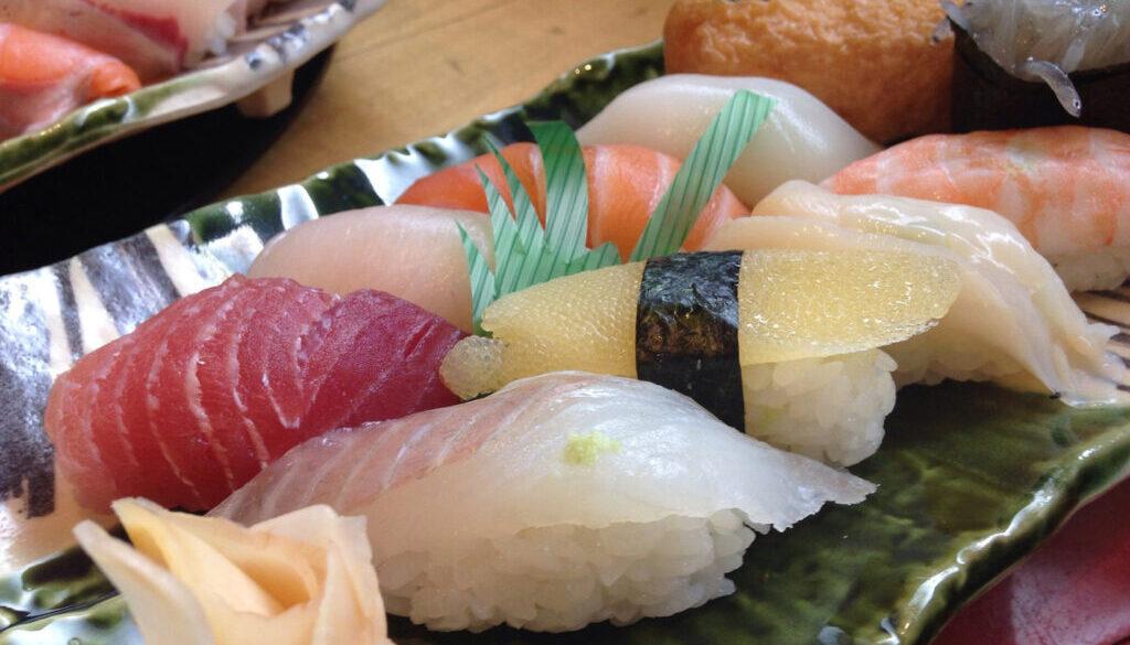 Perfect Blend of Buri and Chutoro Sushi