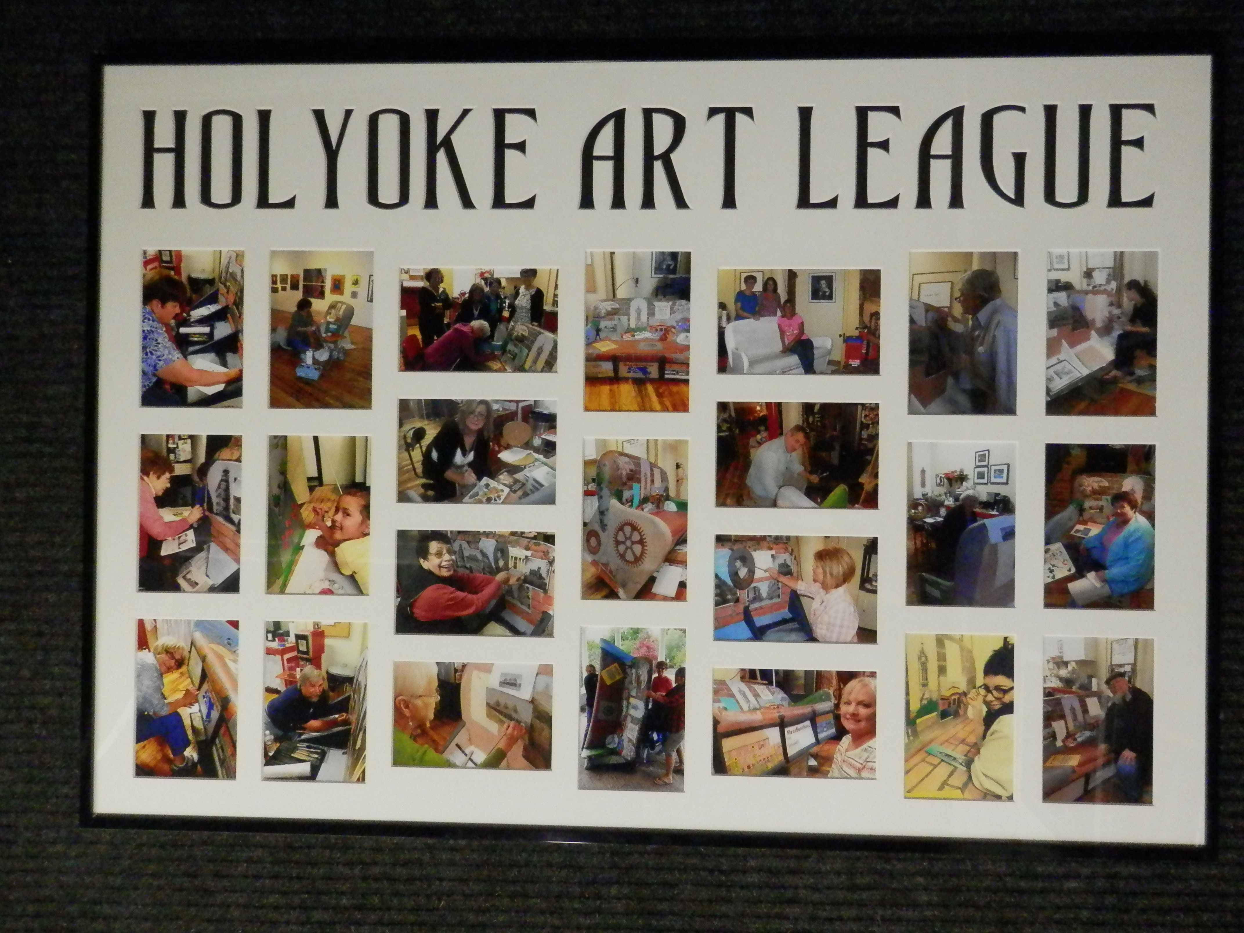 Holyoke Art League - Muse Custom Framing