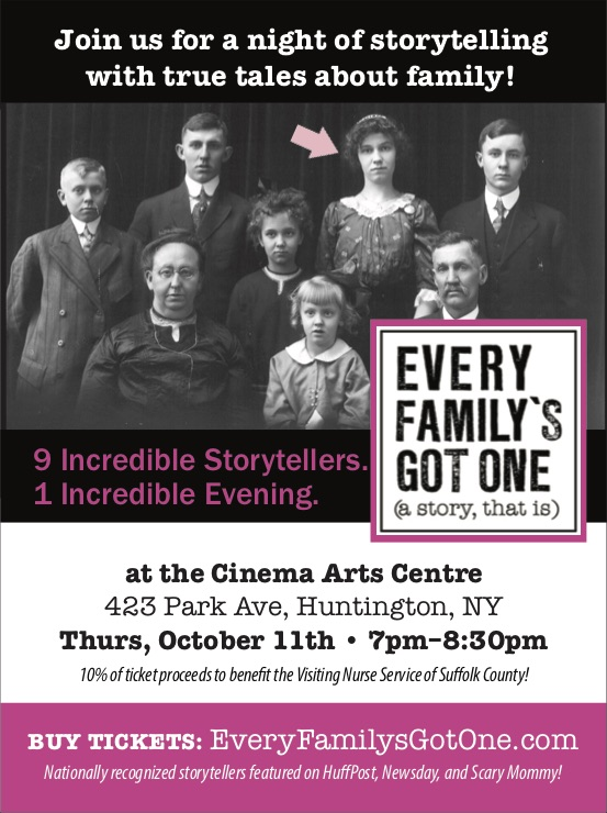 A Night of Storytelling with Every Family's Got One