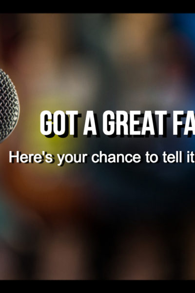 Call for stories for Every Family's Got One 2019 storytelling show