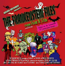 Frankenstein Files Halloween album cover