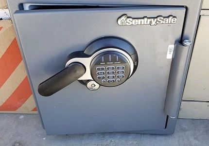 How to open a Sentry fire safe without the combination code in AZ
