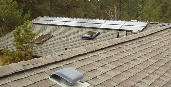 Skyline 3 80 s/f Platinum Solar Water Heating System