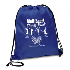 Scout Polyester Drawstring Bags