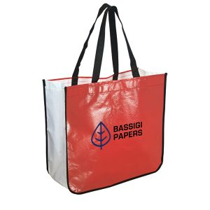 TO4708 Recycled Laminated Shopping Tote Bags