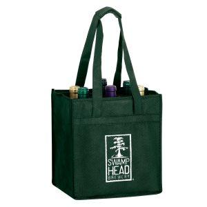 Vine6 Six Bottle Non Woven Wine Tote Bag