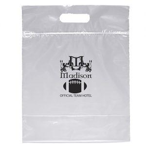 Zip Closure Die Cut Handle Bag