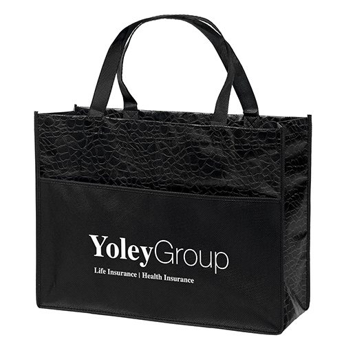 Couture Gloss Laminated Tote Bag
