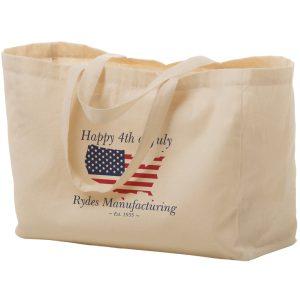 Cotton Canvas Tote Bag (16X6X12)