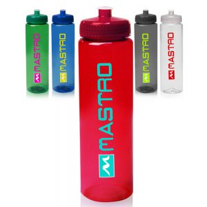 32 oz Poly-Clear Plastic Water Bottles