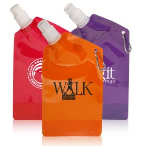 27 oz Collapsible Water Bottles