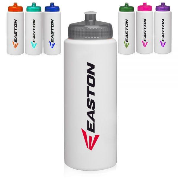 32oz HDPE Plastic Sports Water Bottles