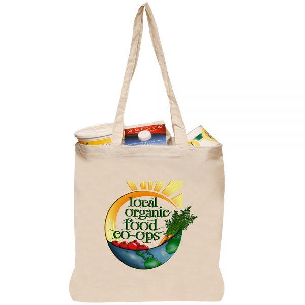 Natural Cotton Fiber Tote Bags