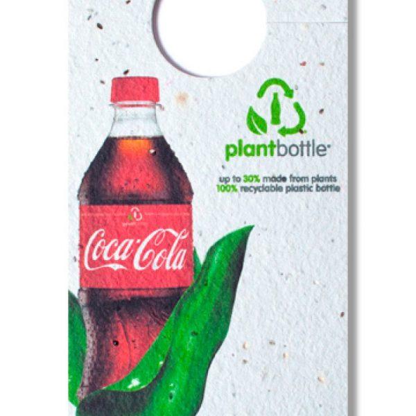 Rectangle Seed Paper Bottle Necker