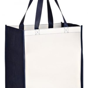 SUBL12813 OPP Laminated Non Woven Sublimated Grocery Bag
