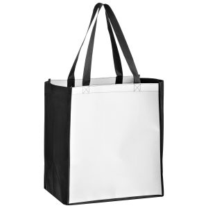 SUBL131015-Dye Sublimation OPP Laminated Non Woven Sublimated Grocery Bag