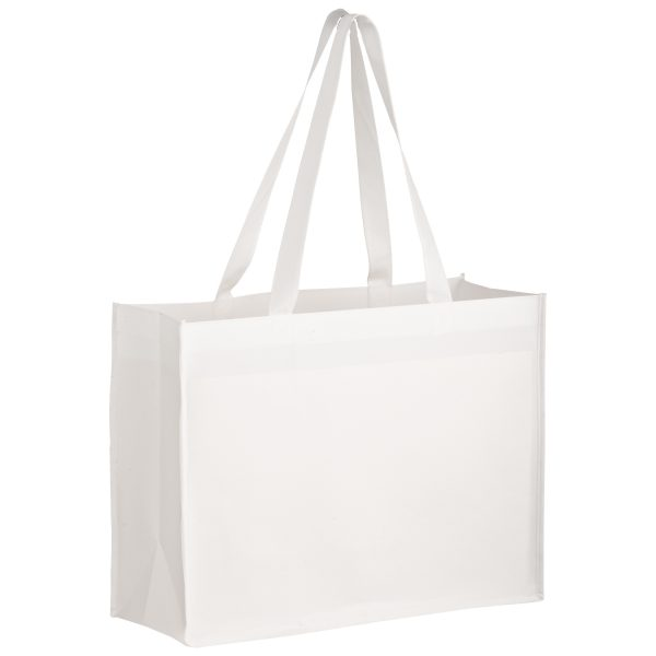 SUBL16612 Dye Sublimation OPP Laminated Non Woven Sublimated Tote Bag