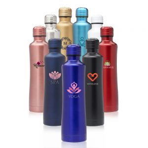 15 oz Silhouette Stainless Steel Water Bottles ASB275