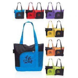 Rosella Tote Bags with Mesh Pocket ATOT251