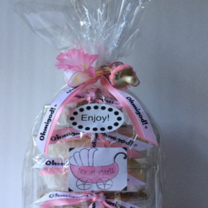 New Baby Gift Basket - Design A